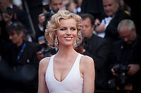 Eva Herzigova at the gala screening for the film The Unknown Girl (La Fille Inconnue) at the 69th Cannes Film Festival, Wednesday 18th May 2016, Cannes, France. Photography: Doreen Kennedy