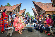 King Willem-Alexander and Queen Maxima of The Netherlands visit the Silima Lombu Ecobillave in Tobalake, Indonesia, 12 March 2020. Central in the village is a farmstay as an example of eco tourism. The Dutch King and Queen are in Indonesia for their 4 day State Visit. Photo: Robin Utrecht