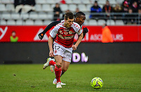 Nicolas DE PREVILLE - 25.01.2015 - Reims / Lens  - 22eme journee de Ligue1<br /> Photo : Dave Winter / Icon Sport *** Local Caption ***