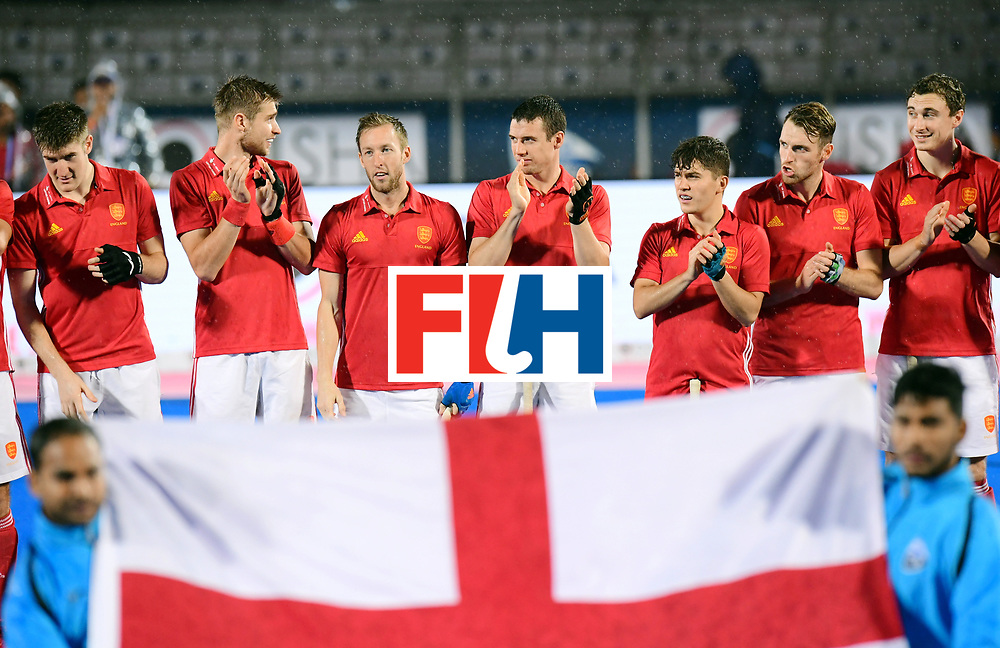 Odisha Men's Hockey World League Final Bhubaneswar 2017<br /> Match id:17<br /> England v Netherlands<br /> Foto: Line Up<br /> COPYRIGHT WORLDSPORTPICS FRANK UIJLENBROEK