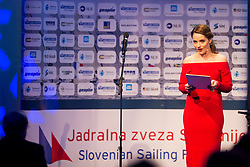 Ceremony of Slovenia Sailing Federation for best Sailor in 2017, on February 7, 2018 in Ljubljana castle, Ljubljana, Slovenia. Photo by Urban Urbanc / Sportida