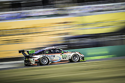 January 28, 2018 - Daytona, FLORIDE, ETATS UNIS - 59 MANTHEY RACING (DEU) PORSCHE 911 GT3 R PORSCHE GTD STEVE SMITH (DEU) RANDY WALLS (DEU) HARALD PROCZYK (AUT) SVEN MULLER (DEU) MATTEO CAIROLI  (Credit Image: © Panoramic via ZUMA Press)