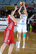 DESCRIZIONE : Venezia Additional Qualification Round Eurobasket Women 2009 Italia Croazia<br /> GIOCATORE : Raffaella Masciardi<br /> SQUADRA : Nazionale Italia Donne<br /> EVENTO : Italia Croazia<br /> GARA :<br /> DATA : 10/01/2009<br /> CATEGORIA : Tiro<br /> SPORT : Pallacanestro<br /> AUTORE : Agenzia Ciamillo-Castoria/M.Gregolin