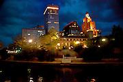 Night Scene on the Providence River in Providence RI