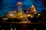 Night Scene on the Providence River in Providence RI