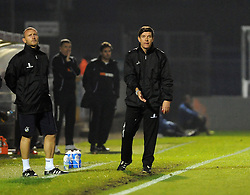 Bristol Rovers Manager, Darrell Clarke - Photo mandatory by-line: Neil Brookman/JMP - Mobile: 07966 386802 - 29/11/2014 - SPORT - Football - Bristol - Memorial Stadium - Bristol Rovers v Welling - Vanarama Conference