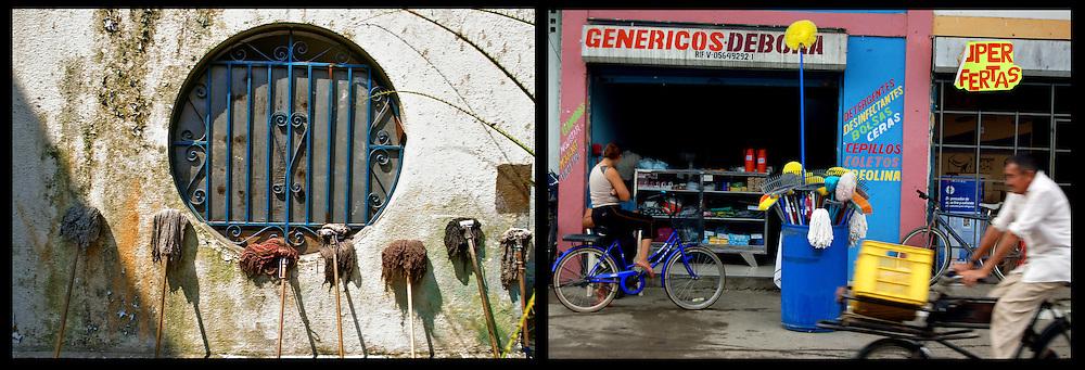 DAILY VENEZUELA II / VENEZUELA COTIDIANA II<br /> Photography by Aaron Sosa <br /> <br /> Left: Caracas - Venezuela 2006<br /> <br /> Right: Guasdualito, Apure State - Venezuela 2007 / Guasdualito, Estado Apure - Venezuela 2007<br /> <br /> (Copyright © Aaron Sosa)