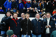 Picture by David Horn/Focus Images Ltd +44 7545 970036<br /> 14/11/2013<br /> England fans during the European U21 Championship match at stadium:mk, Milton Keynes.