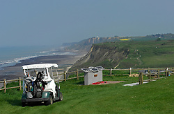 NORMANDY, FRANCE - MAY-01-2007 - The view from hole 6 of La Mer course. Omaha Beach Golf Club - Course: La Mer (The Sea) - Hole 6 - 469 yards - Par 4.(Photo © Jock Fistick)