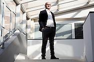 Potenza, Italia - Aldo Schiassi, direttore dell'ARPAB (Azienda Regionale per Protezione Ambiente Basilicata) ritratto nel suo ufficio a Potenza.<br /> Ph. Roberto Salomone
