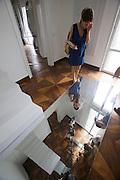"54th Biennale of Venice..ILLUMInazioni - ILLUMInations.Luxembourg ehibition..Martine Feipel and Jean Bechameil, ""Le Cercle Ferme"", 2011."