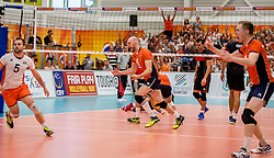 25-09-2016 NED: EK Kwalificatie Nederland - Turkije, Koog aan de Zaan<br /> Nederland plaatst zich voor het EK in Polen door Turkije met 3-1 te verslaan / Jasper Diefenbach #6