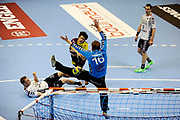 DESCRIZIONE : HandbaLL Cup Finale EHF Homme<br /> GIOCATORE : Tournat Nicolas<br /> SQUADRA : Nantes <br /> EVENTO : Coupe EHF Demi Finale<br /> GARA : NANTES HOLSTEBRO<br /> DATA : 18 05 2013<br /> CATEGORIA : Handball Homme<br /> SPORT : Handball<br /> AUTORE : JF Molliere <br /> Galleria : France Hand 2012-2013 Action<br /> Fotonotizia : HandbaLL Cup Finale EHF Homme<br /> Predefinita :