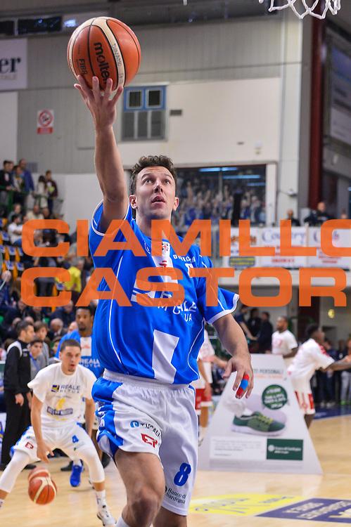 Giacomo Devecchi<br /> Banco di Sardegna Dinamo Sassari - Olimpia EA7 Emportio Armani Milano<br /> LegaBasket LBA Poste Mobile 2017/2018<br /> Sassari, 29/10/2017<br /> Foto L.Canu / Ciamillo-Castoria