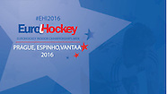 2016 EuroHockey Indoor Championships, Men, Prague