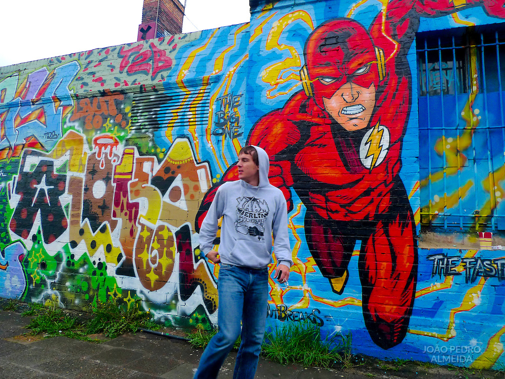 Street art at Berlin