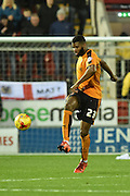 Wolverhampton Wanderers defender Ethan Ebanks-Landell  during the Sky Bet Championship match between Rotherham United and Wolverhampton Wanderers at the New York Stadium, Rotherham, England on 5 December 2015. Photo by Ian Lyall.