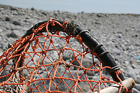 lobster pot on Inis Mor Aran Islands County Galway Ireland