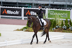 Sergey Kulikov, (RUS), Silva Le Andro - Individual Test Grade II Para Dressage - Alltech FEI World Equestrian Games™ 2014 - Normandy, France.<br /> © Hippo Foto Team - Jon Stroud <br /> 25/06/14