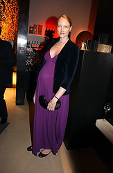 Model JADE PARFITT at the launch party for Donna Karan's new fragrance Gold held at the Donna Karan store, 19 New Bond Street, London on 16th November 2006.<br />