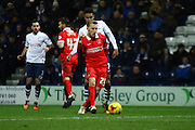 Charlton Athletic defender Chris Solly during the Sky Bet Championship match between Preston North End and Charlton Athletic at Deepdale, Preston, England on 23 February 2016. Photo by Pete Burns.