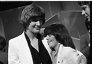 1980-03-09.9th March 1980.09-09-1980.03-09-80..Photographed at RTE Montrose, Dublin..Johnny Logan, the winner of the 16th National Song Competition with What's Another Year.
