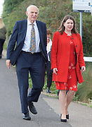 Liberal Democrats Annual Conference, Bournemouth International Centre, Bournemouth, Great Britain <br /> 19th September 2017 <br /> <br /> Vince Cable MP Leader of the Liberal Democrats and Jo Swinson - deputy leader of the party arrive at the conference centre ahead of his leaders' speech. <br /> <br /> <br /> <br /> Photograph by Elliott Franks <br /> Image licensed to Elliott Franks Photography Services