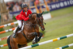 Thomas Gilles, BEL, Conaro<br /> European Championship Children, Juniors, Young Riders - Fontainebleau 1028<br /> © Hippo Foto - Dirk Caremans<br /> Thomas Gilles, BEL, Conaro