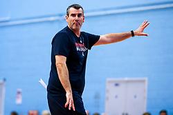 Bristol Flyers head coach Andreas Kapoulas - Mandatory by-line: Robbie Stephenson/JMP - 17/09/2019 - BASKETBALL - SGS Arena - Bristol, England - Bristol Flyers Open Training Session