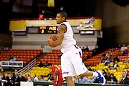 November 27, 2008: Louisiana Tech guard Jamel Guyton (3) in the opening round of the 2008 Great Alaska Shootout at the Sullivan Arena.