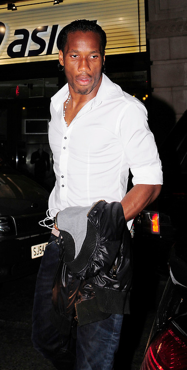 30.MAY.2009 - LONDON<br /> <br /> CHELSEA FOOTBALLER DIDIER DROGBA LEAVING MOVIDA NIGHT CLUB AT 4.00AM.<br /> <br /> BYLINE MUST READ : EDBIMAGEARCHIVE.COM<br /> <br /> *THIS IMAGE IS STRICTLY FOR UK NEWSPAPERS &amp; MAGAZINES ONLY* <br /> *FOR WORLDWIDE SALES OR WEB USE PLEASE CONTACT EDBIMAGEARCHIVE - 0208 954-5968*