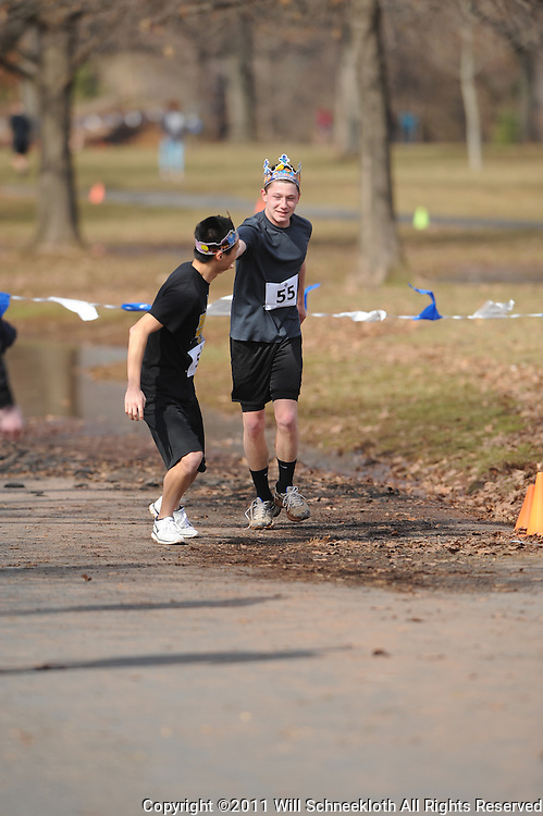 2011 Garden State Track Club Road Relays running race in New Brunswick, NJ.