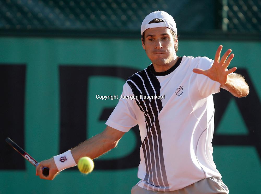 French Open 2009, Roland Garros, Paris, Frankreich,Sport, Tennis, ITF Grand Slam Tournament,  <br /> <br /> Tommy Haas (GER).<br /> <br /> Foto: Juergen Hasenkopf
