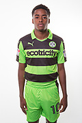 Forest Green Rovers Reece Brown(10) during the Forest Green Rovers Photocall at the New Lawn, Forest Green, United Kingdom on 31 July 2017. Photo by Shane Healey.