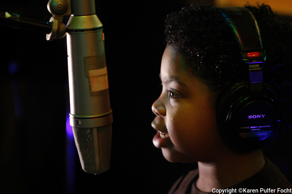Benjamin Flores Jr.'s , AKA  Lil' P-Nut records with Otis Clay at Royal Studios. Memphis musicians played around during a recording session at WIllie Mitchell's  Royal Studios in south Memphis.