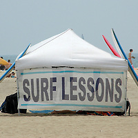 Santa Monica Beach on Friday, July, 6, 2007.