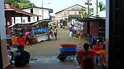 Portobelo es un puerto natural y un poblado ubicado en la República de Panamá. Una de las poblaciones más importantes de América durante la época colonial y puerto por el que pasó la mayoría de las riquezas que España embarcó hacia Europa procedentes de la conquista de la actual América del Sur.©Victoria Murillo/ Istmophoto.com