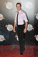LONDON - SEPTEMBER 11: Anton du Beke attended the Strictly Come Dancing Launch at the BBC Television Centre, London, UK. September 11, 2012. (Photo by Richard Goldschmidt)