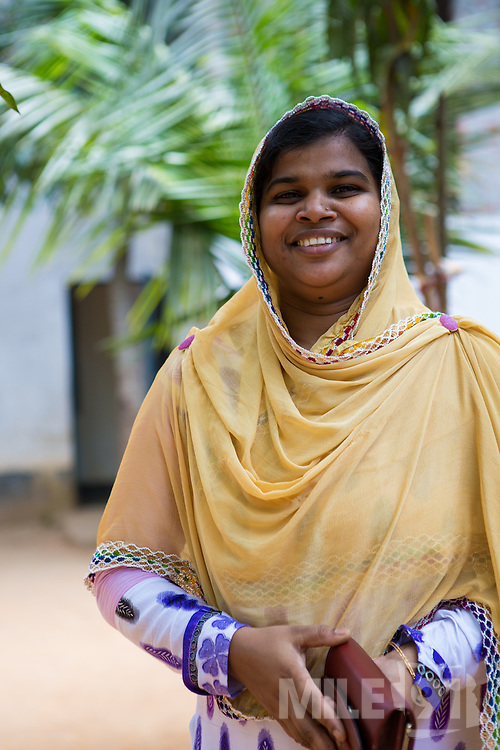 Najma is a garment worker who works at an Epyllion Group garment factory in Dhaka, Bangladesh.