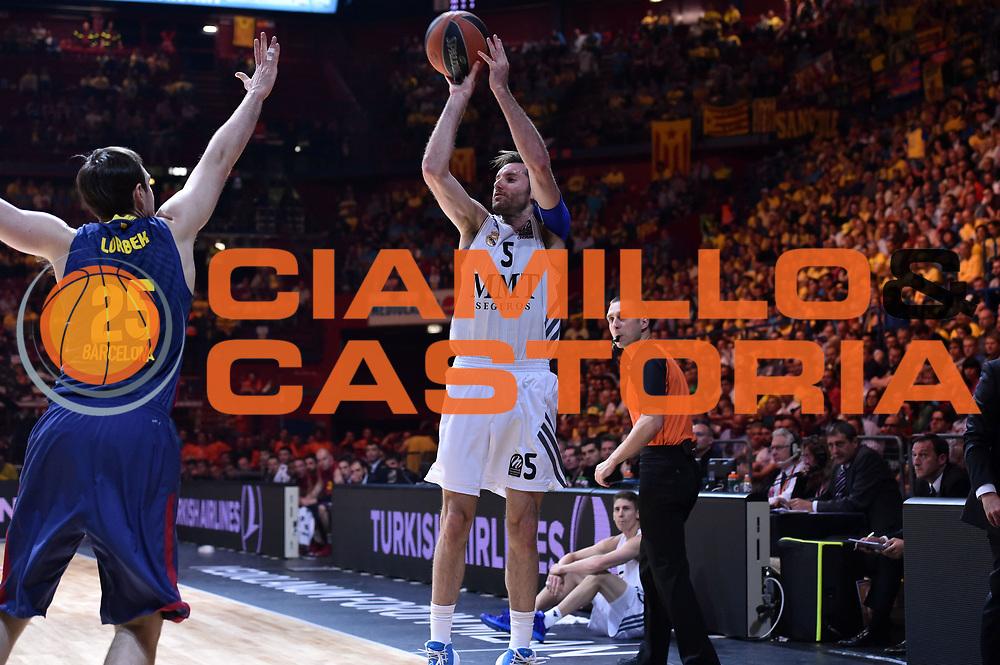 DESCRIZIONE : Milano Eurolega Eurolegue 2013-14 Final Four Semifinal Semifinale Fc Barcelona Fc Barcellona Real Madrid<br /> GIOCATORE : Rudy Fernandez<br /> SQUADRA :&nbsp; Real Madrid<br /> CATEGORIA : Tiro Three Points<br /> EVENTO : Eurolega 2013-2014<br /> GARA : Fc Barcelona Fc Barcellona Real Madrid<br /> DATA : 17/05/2014<br /> SPORT : Pallacanestro<br /> AUTORE : Agenzia Ciamillo-Castoria/Max.Ceretti<br /> Galleria : Eurolega 2013-2014<br /> Fotonotizia : Milano Eurolega Eurolegue 2013-14 Final Four Semifinal Semifinale Fc Barcelona Fc Barcellona Real Madrid<br /> Predefinita :