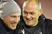Preston North End Manager Alex Neil before the EFL Sky Bet Championship match between Barnsley and Preston North End at Oakwell, Barnsley, England on 21 January 2020.