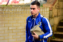 Michael Kelly of Bristol Rovers arrives at Roots Hall prior to kick off - Mandatory by-line: Ryan Hiscott/JMP - 02/02/2019 - FOOTBALL - Roots Hall - Southend-on-Sea, England - Southend United v Bristol Rovers - Sky Bet League One