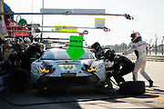March 16-18, 2017: Mobil 1 12 Hours of Sebring. 27 Dream Racing Motorsport, Lamborghini Huracan GT3, Lawrence DeGeorge, Cedric Sbirrazzuoli, Paolo Ruberti, Luca Persiani