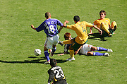 FIFA World Cup 2006 Tim Cahill of Australia scores to make it 1-1