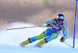Marusa Ferk of Slovenia skiing in first run of Maribor women giant slalom race of Audi FIS Ski World Cup 2008-09, in Maribor, Slovenia, on January 10, 2009. (Photo by Vid Ponikvar / Sportida)