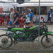 Can't say I've seen this setup before, but Clement Desalle must be proud.