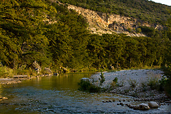 Stock photo of the Frio River in the Texas Hill Country