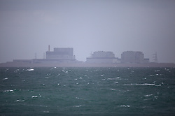 UK ENGLAND SOUTH COAST 12MAY11 - Sizewell nuclear power station on the coast of the United Kingdom, seen from aboard a ship in the English Channel...Photo by Jiri Rezac