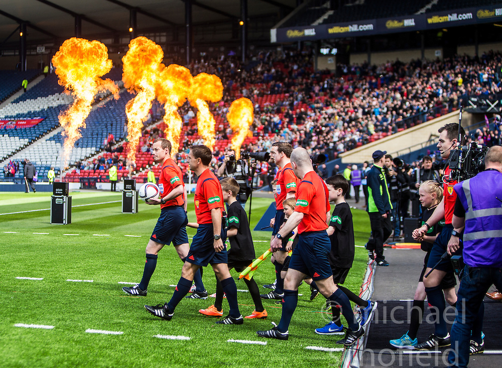Falkirk 1 v 2 Inverness CT, Scottish Cup final at Hampden.