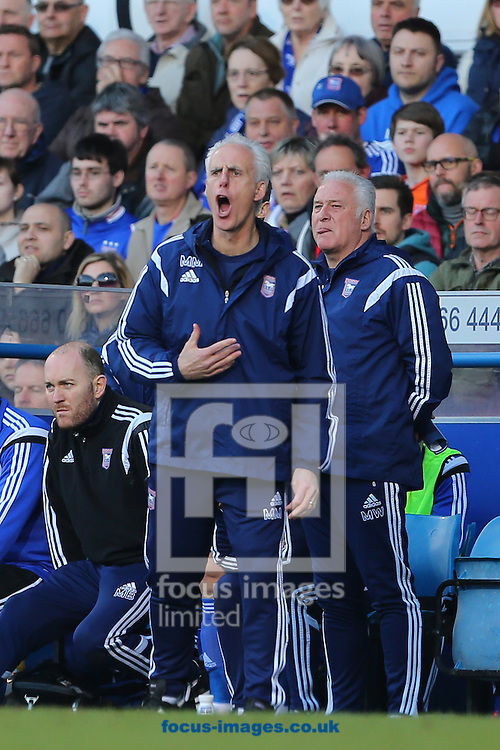 Manager of Ipswich Town, Mick McCarthy during the Sky Bet Championship match at Portman Road, Ipswich<br /> Picture by Richard Calver/Focus Images Ltd +447792 981244<br /> 07/03/2015
